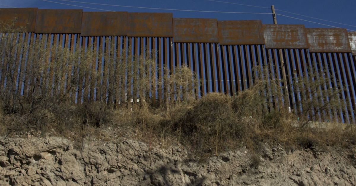 The Nogales border, where a Border Patrol agent shot into Nogales, Sonora, Mexico on October 10, 2012, killing a 16-year-old male.</p>