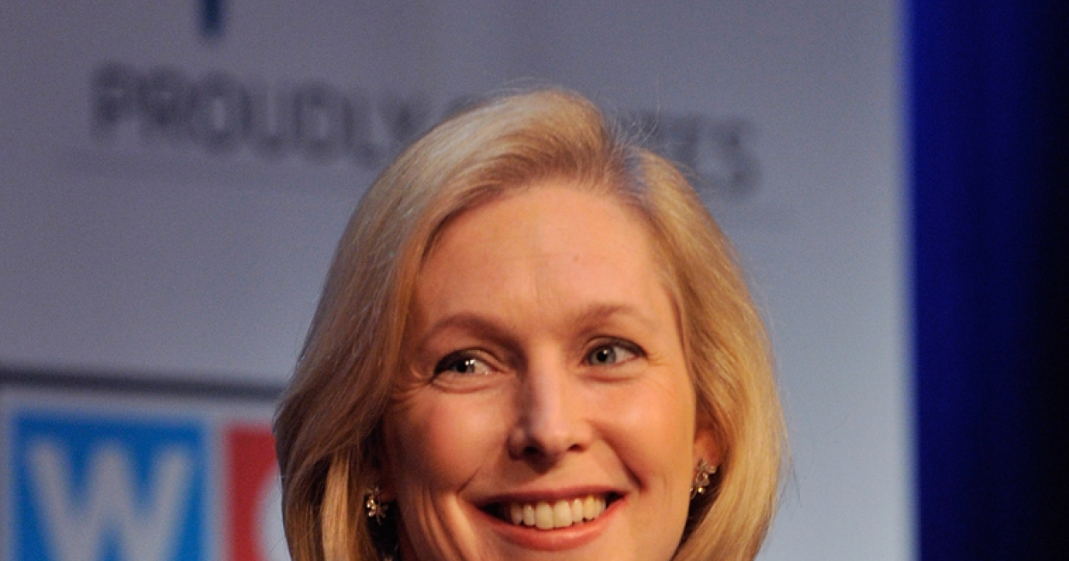 Senator Kirsten Gillibrand said Wednesday that she will be urging Hilary Clinton to run for president in 2016.</p>