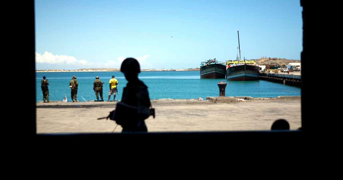 Kismayo's natural deep-water harbor is at the heart of the city's economy and is closely guarded. Security issues and a UN embargo on coal sales means the port is less busy than in the past.</p>