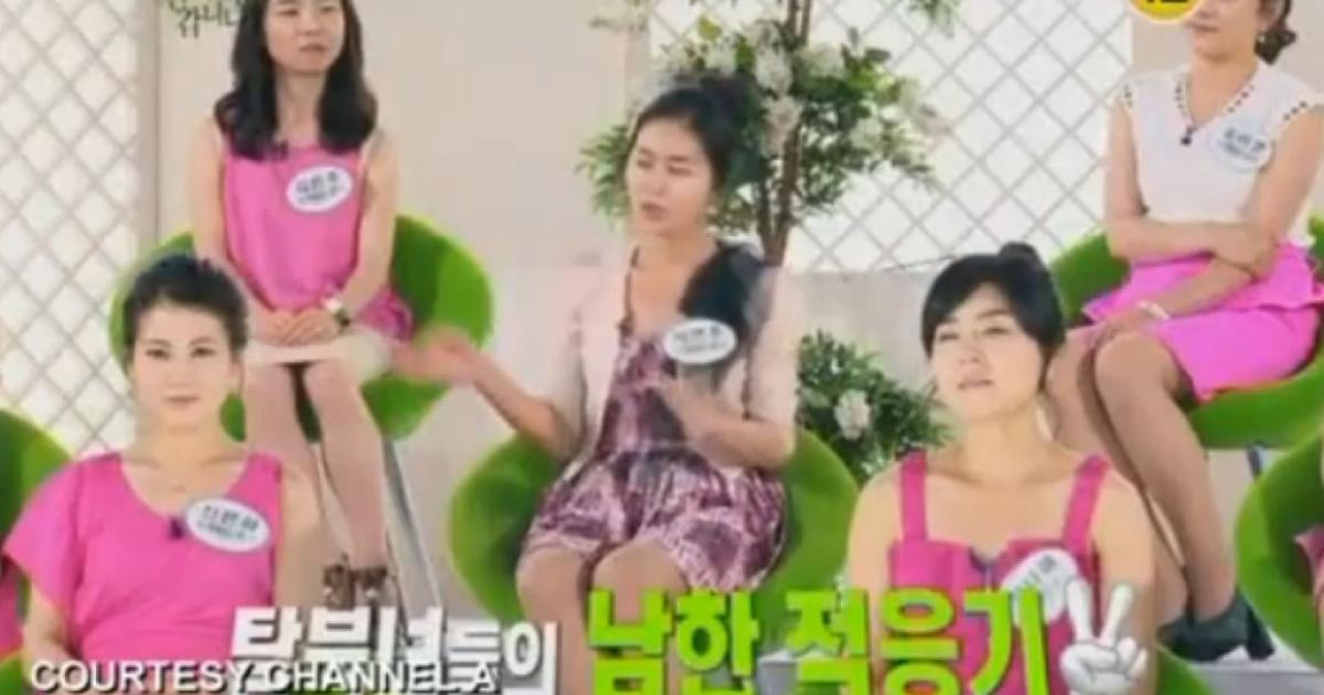 North Korean defectors get their own hybrid talent-talkshow in South Korea.</p>