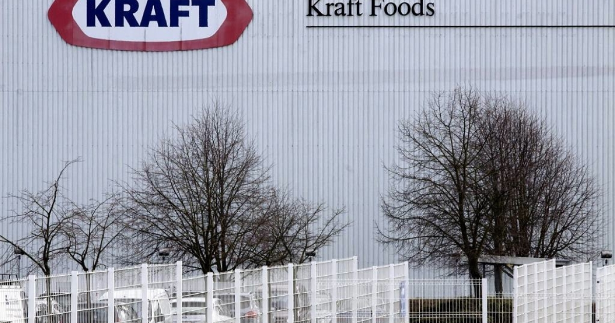 Kraft Foods is set to split into two different companies by 2012.</p>