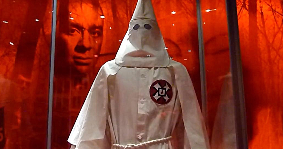 Two Ku Klux Klan robes were given to the Smithsonian's National Museum of African American History and Culture.</p>
