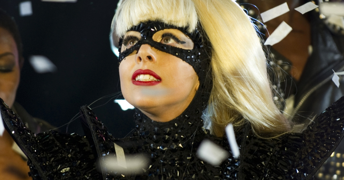 Lady Gaga performs during the New Year's Eve celebration in Times Square December 31, 2011 in New York. Gaga launched her Born This Way Foundation at Harvard on Wednesday, which aims to promote kindness and decrease bullying.</p>