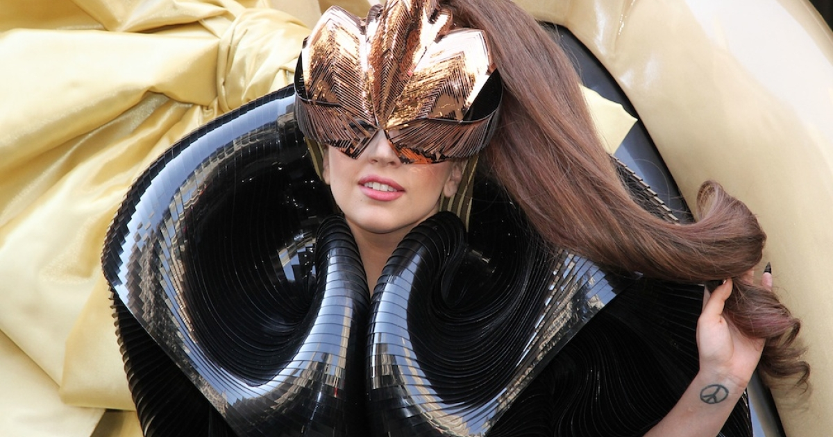 Lady GaGa attends Lady GaGa 'Fame' Perfume Launch on September 14, 2012 in New York, United States. The pop star has inspired the name of a genus of fern discovered by Duke scientists.</p>