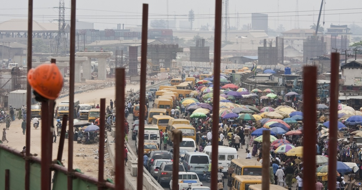 Traffic in Lagos, Nigeria, sub-Saharan Africa's biggest city, is notoriously chaotic. The Canadian company CPCS Transcom Ltd. is the lead adviser on a light-rail transit project, which is being built by a Chinese construction firm.</p>