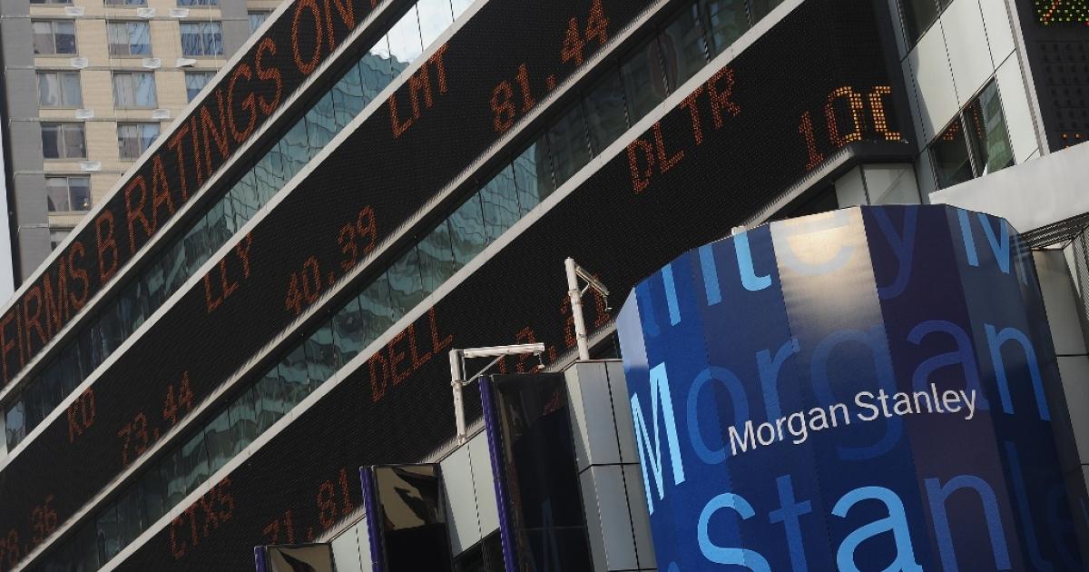The Morgan Stanley headquarters Jun. 1, 2012 in New York City.</p>