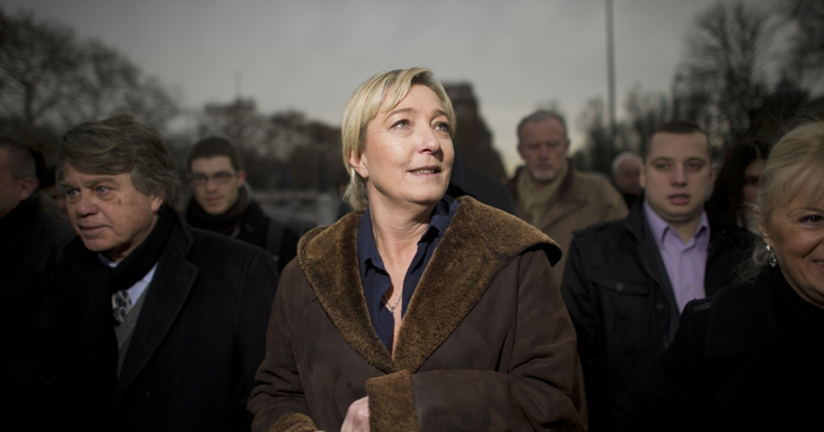 Marine Le Pen, leader of France's far-right National Front, has secured the backing of 500 elected officials -- allowing her to run for president in next month's elections.</p>