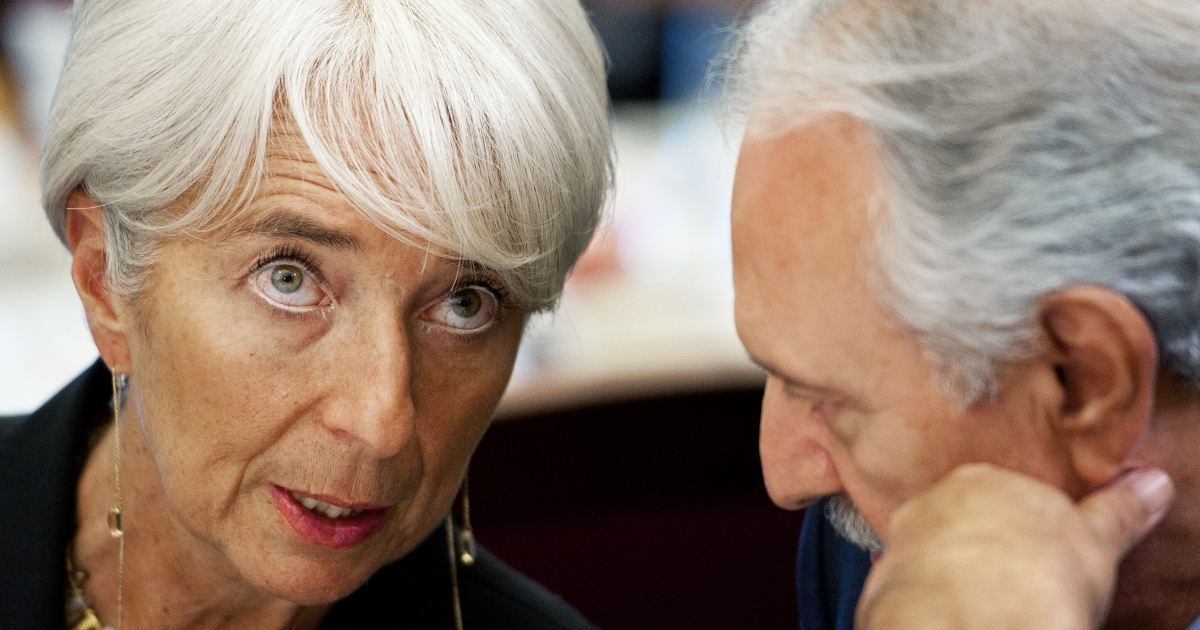 IMF Managing Director Christine Lagarde on December 6, 2011.</p>