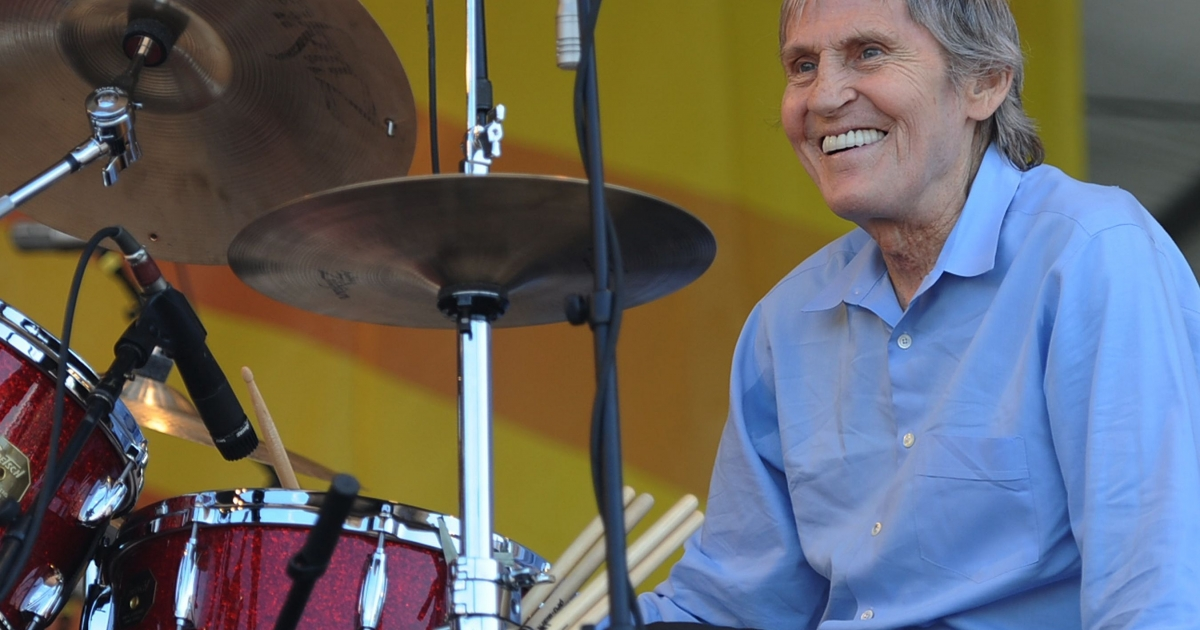 Singer/songwriter Levon Helm performs at the 2010 New Orleans Jazz &amp; Heritage Festival at the Fair Grounds Race Course on April 25, 2010 in New Orleans, Louisiana.</p>