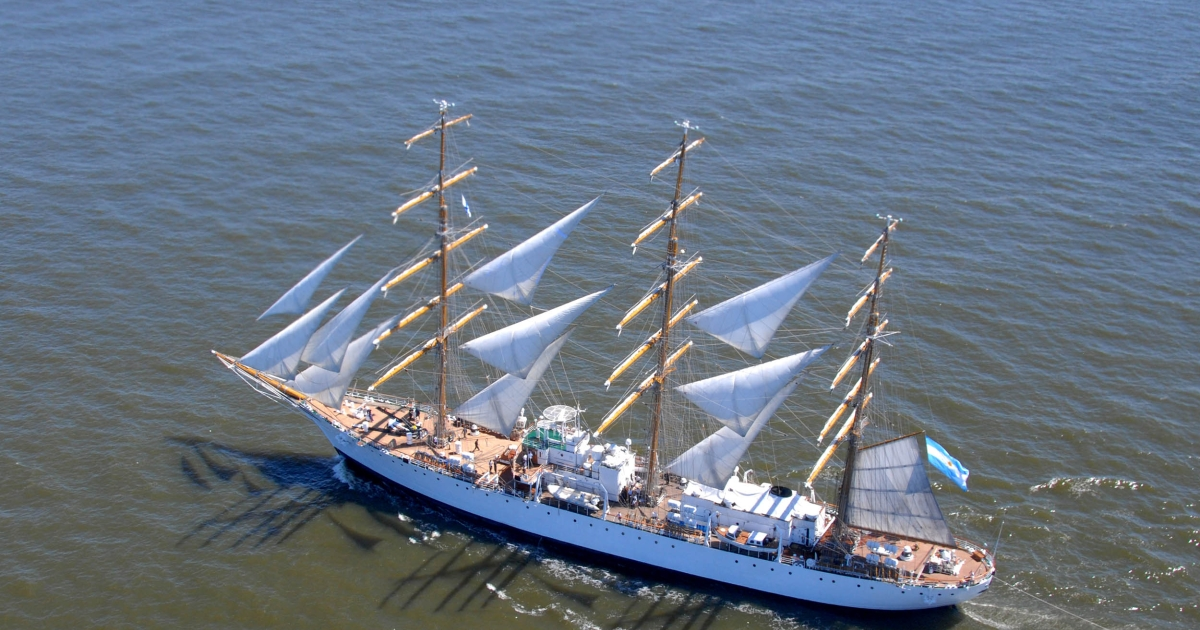 The Argentinian sailing ship ARA Libertad was seized by an American hedge fund as compensation for a bond the government failed to pay in 2001.</p>