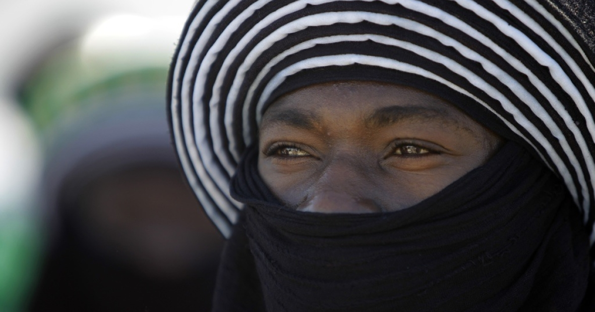 A Tuareg tribesman in Libya. Libya has struggled to stop infighting among its many tribes and clans since the death of the country's former leader, Muammar Gaddafi.</p>