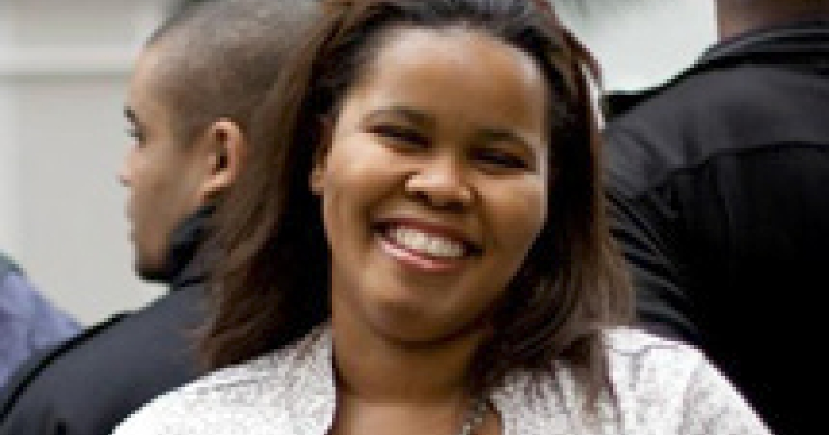 South Africa's opposition Democratic Alliance (DA) party on October 27, 2011 elected its first black parliamentary leader, Lindiwe Mazibuko.</p>