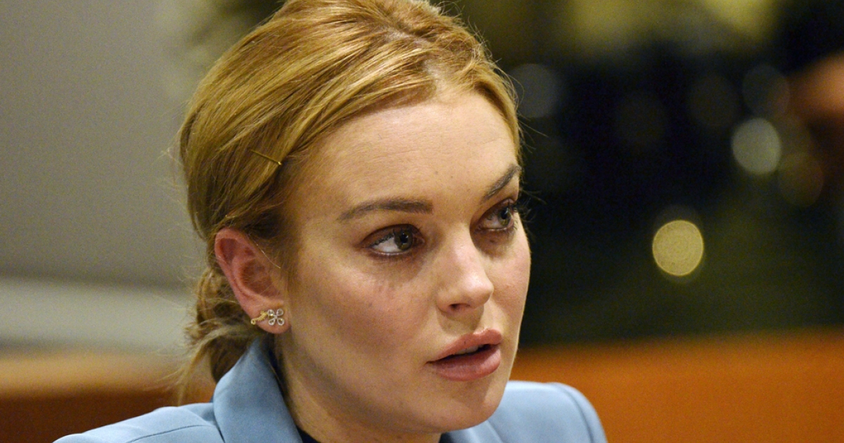 Lindsay Lohan attends her probation hearing at the Airport Courthouse on March 29, 2012 in Los Angeles, California. Lohan was involved in a car crash on June 8, 2012 that led to her being rushed to the hospital, though reports say she was not seriously injured.</p>