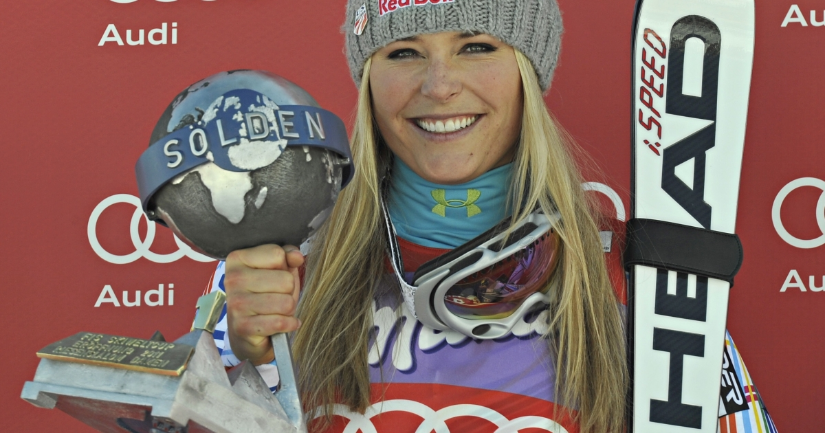 Lindsey Vonn-- Olympic Gold Medal winner and homecoming queen.</p>