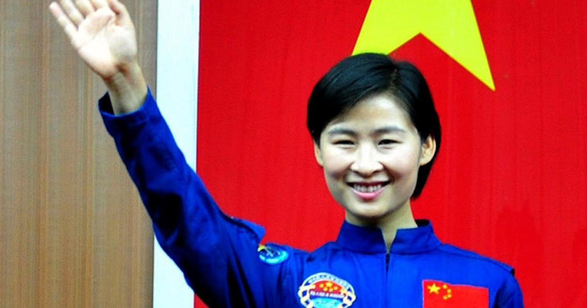 China's first female astronaut Liu Yang.</p>