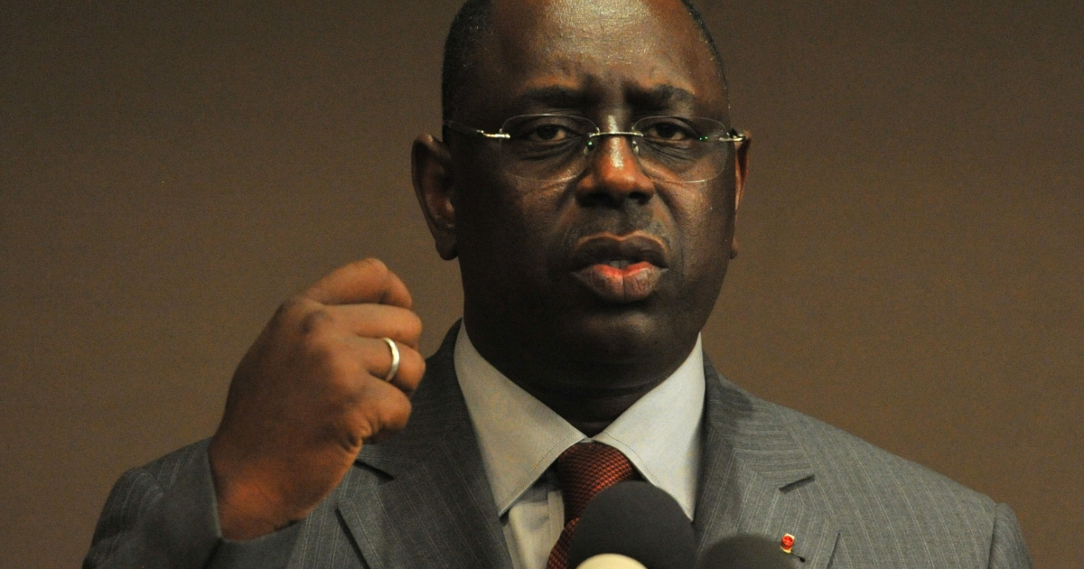 Macky Sall was sworn in as Senegal's new president on April 2, 2012, replacing Abdoulaye Wade.</p>