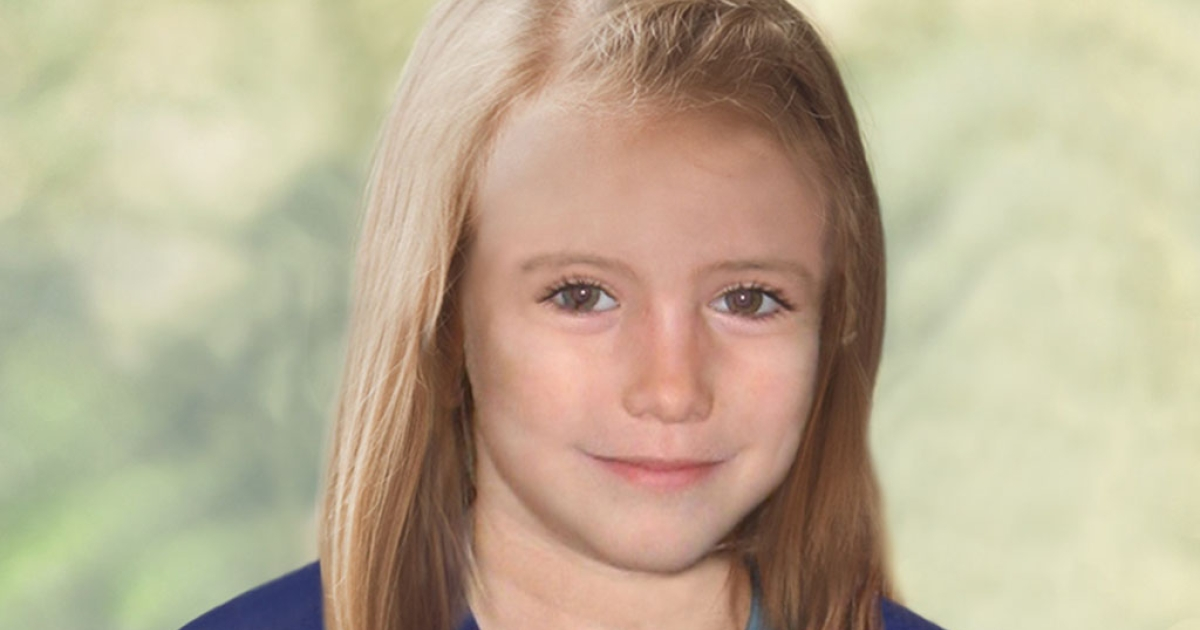 British police issued this age-enhanced photo of what Madeleine McCann might look like at age nine.</p>