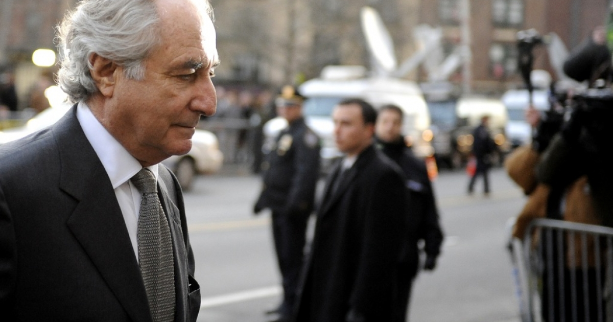 Disgraced former financier Bernard Madoff pleaded guilty to 11 federal felonies in March 2009 and was later sentenced to 150 years in prison.</p>