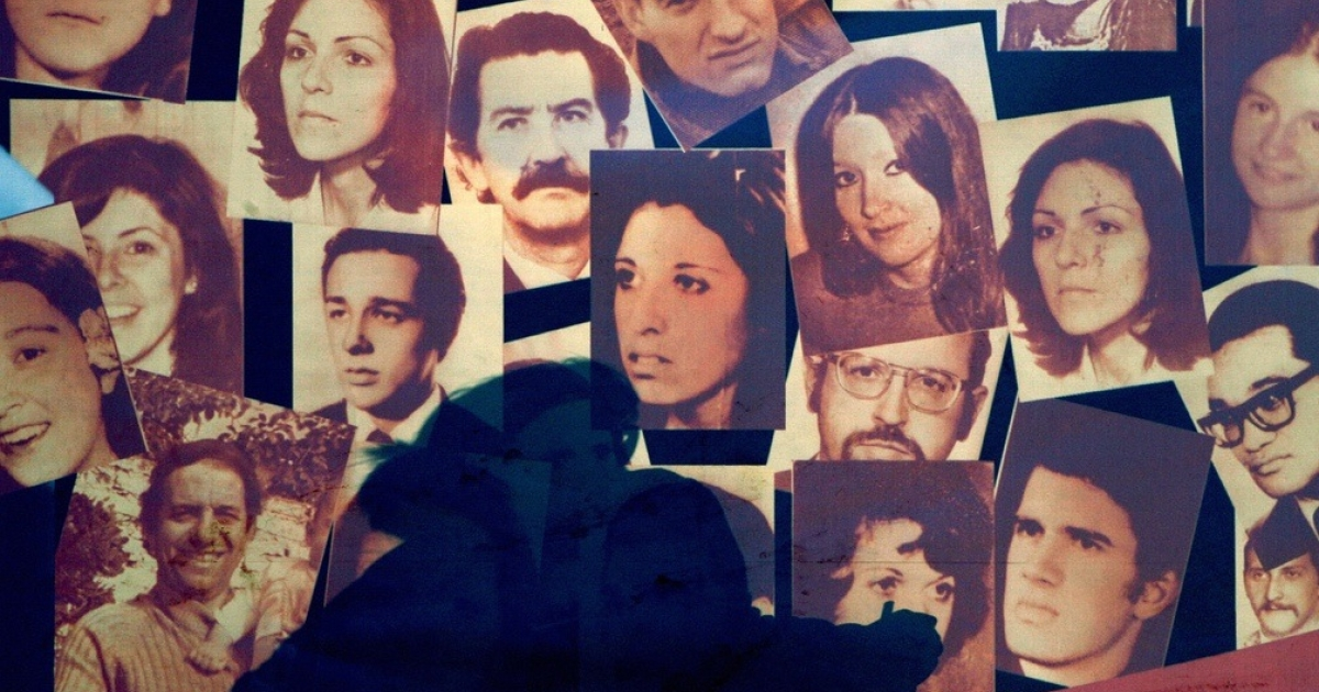 Images of people who disappeared during the military dictatorship in Argentina (1976-83) hung in Plaza de Mayo in Buenos Aires in 2007. The mothers, now in their 70s, 80s — a few even in their 90s — said they have no plans to end their weekly vigil, even though the dictatorship that carried out the kidnappings, murders and other atrocities that prompted their protest faded away nearly a quarter-century ago.</p>