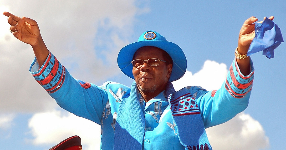 President Bingu wa Mutharika, seen here waving to supporters during a campaign rally for the 2009 elections which he went on to win, has expelled Britain's ambassador after he described Malawi's leader as