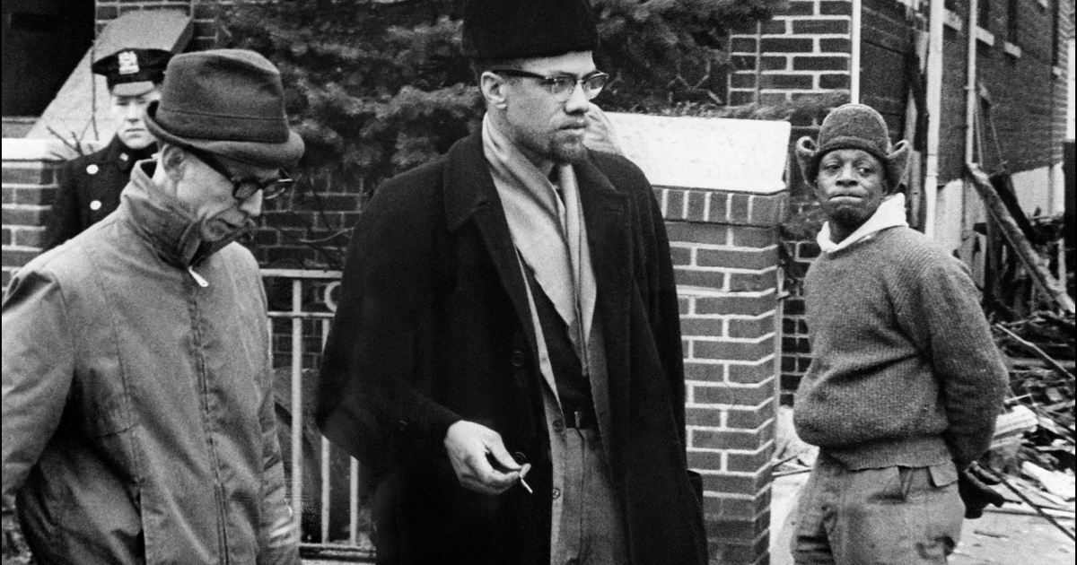 Malcolm X, born Malcolm Little and later also known as El-Hajj Malik El-Shabazz, the leader of the Organization of Afro-American Unity, appears in this undated photograph.</p>