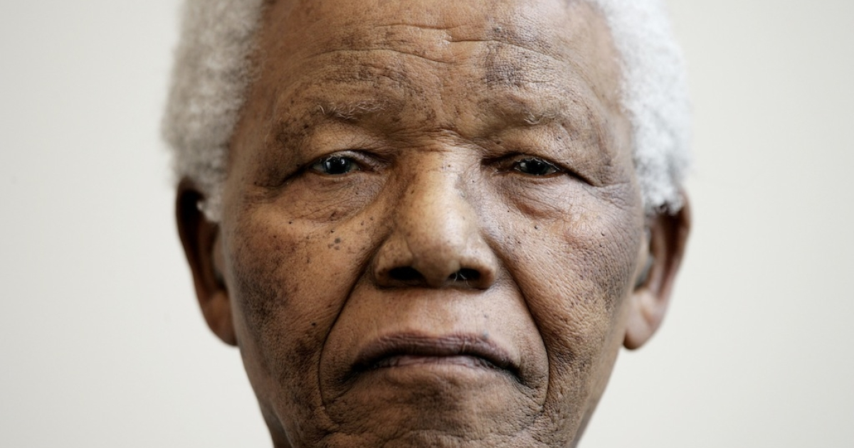 Nelson Mandela in 2005. The 94-year-old former president was readmitted to hospital with a recurrent lung infection on March 27, 2013.</p>