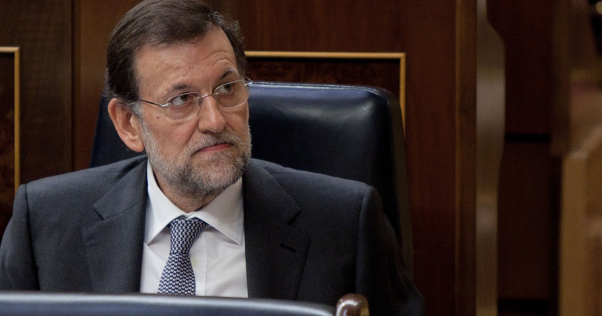 Spanish Prime Minister Mariano Rajoy pictured in February 2012.</p>