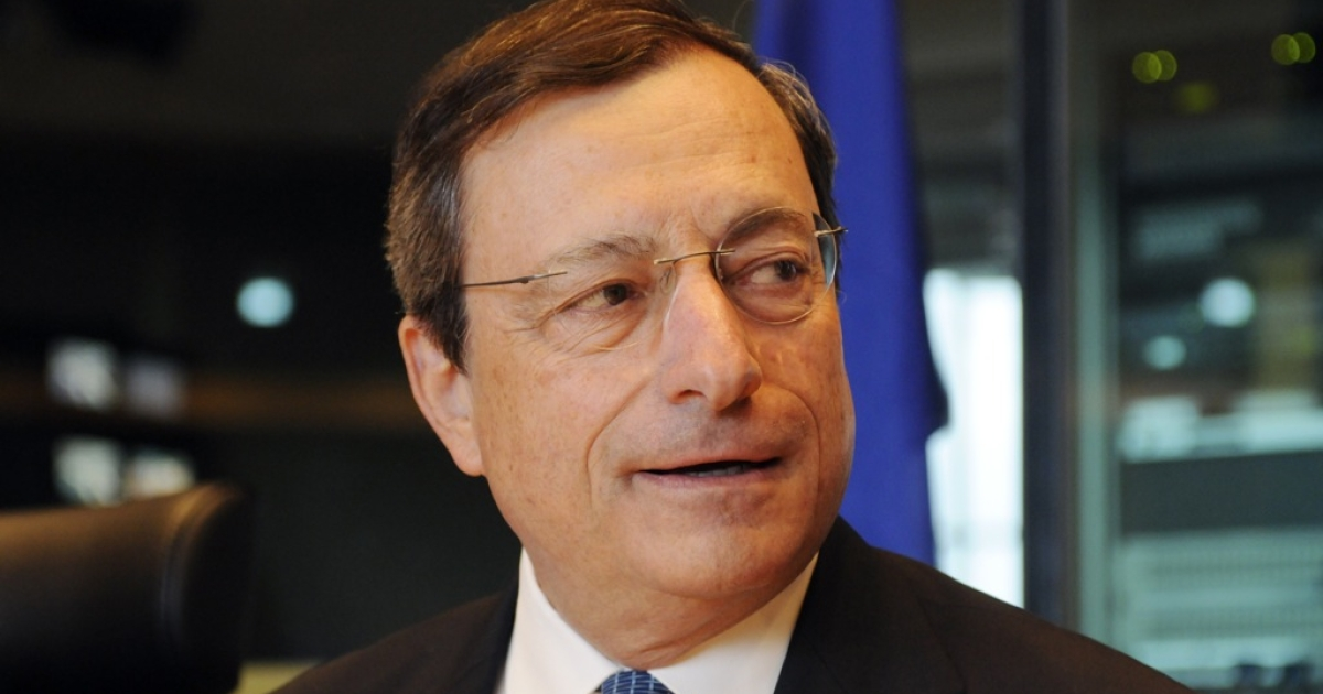 Can he pull it off? European Central Bank President Mario Draghi.</p>