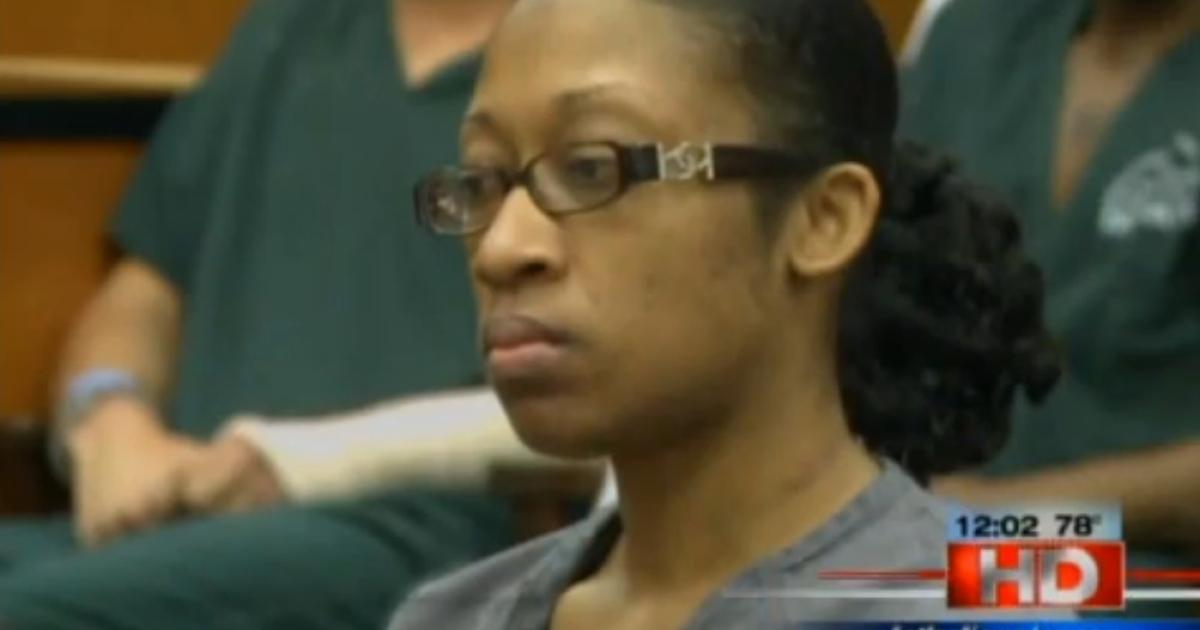 Marissa Alexander at her sentencing hearing on May 11, 2012.</p>