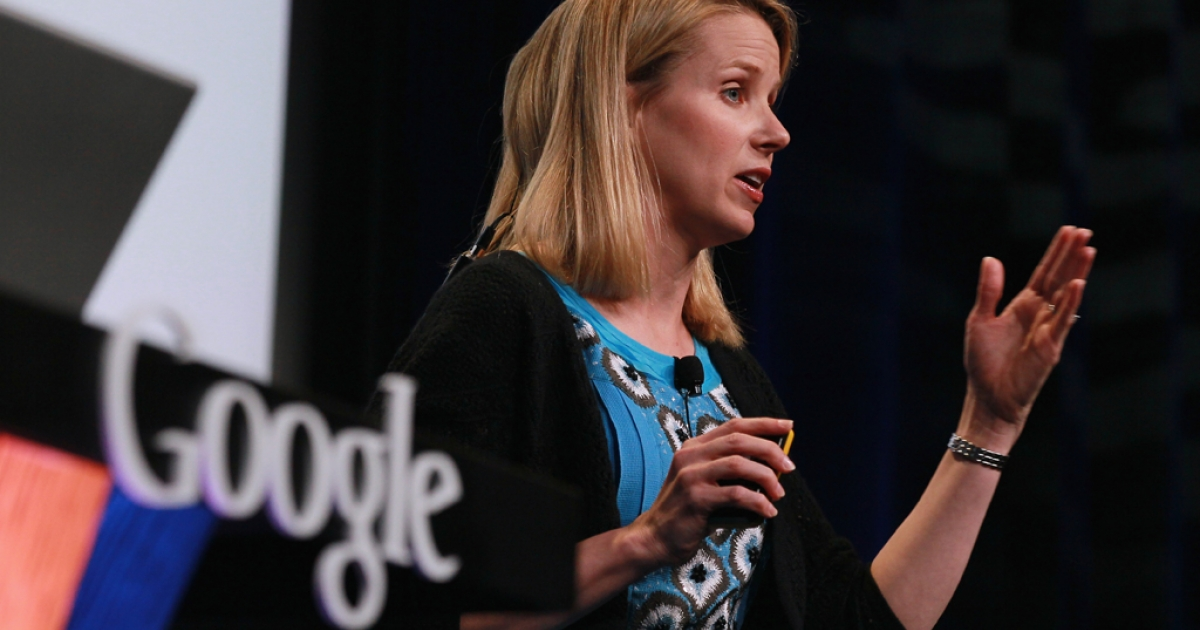 SAN FRANCISCO - Google Vice President of Search Product and User Experience Marissa Mayer speaks during an announcement September 8, 2010 in San Francisco, California.</p>