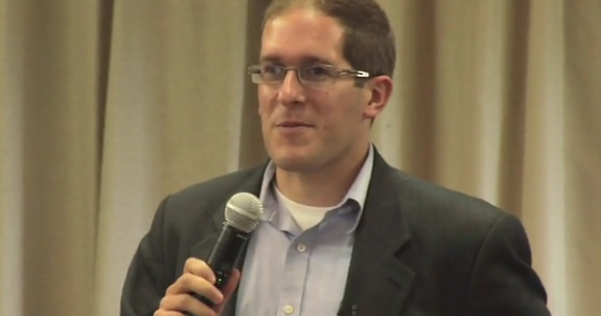Colorado Representative Mark Ferrandino of Denver was one of four sponsors for the civil union bill.</p>