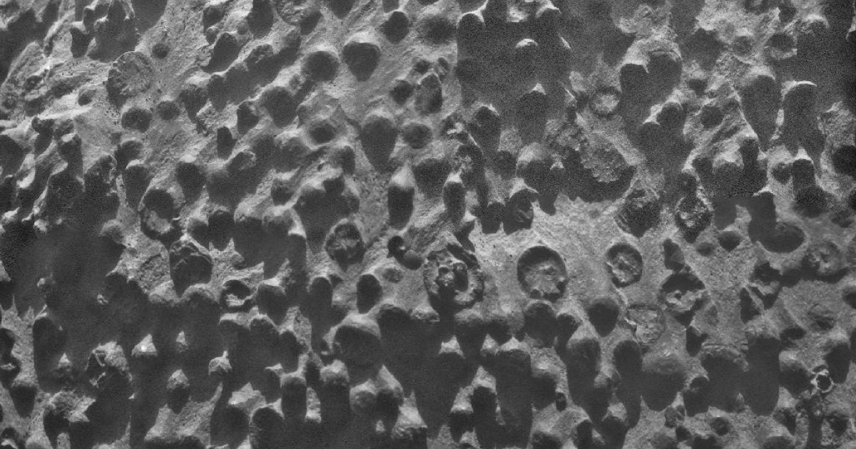 NASA's rover Opportunity sent photos back from Mars of spherical objects that are baffling scientists.</p>