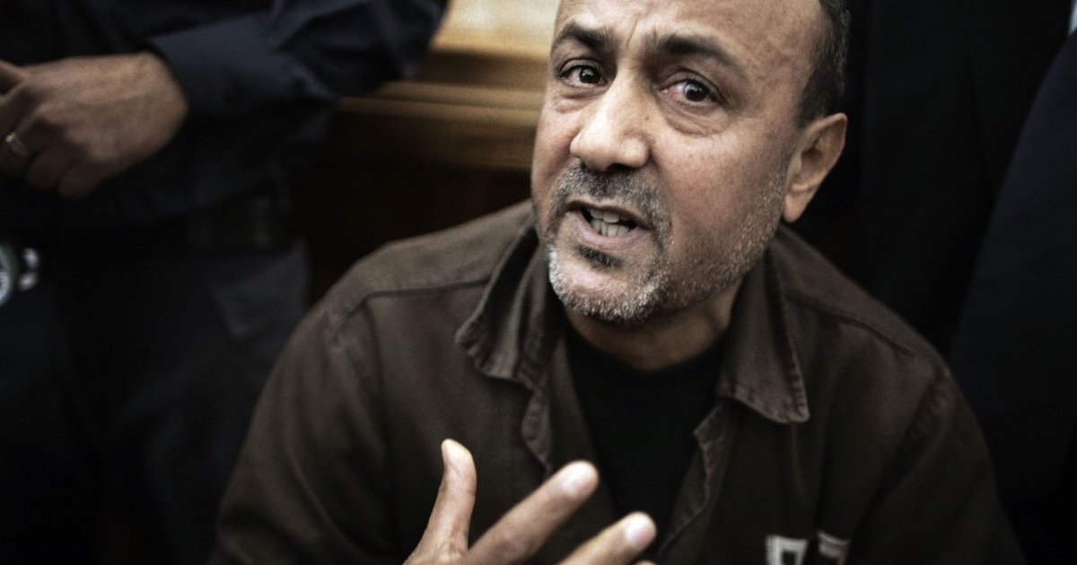 Marwan Barghouti is currently serving five life sentences for his role in deadly anti-Israel attacks, but remains an influential figure, negotiating truces and agreements from inside his prison cell.</p>