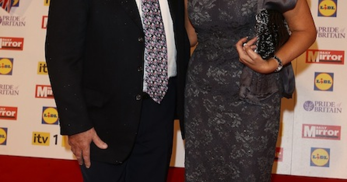 LONDON, ENGLAND - OCTOBER 29: Max Clifford and Jo Westwood attend the Pride Of Britain awards at the Grosvenor House Hotel, on October 29, 2012 in London, England.</p>