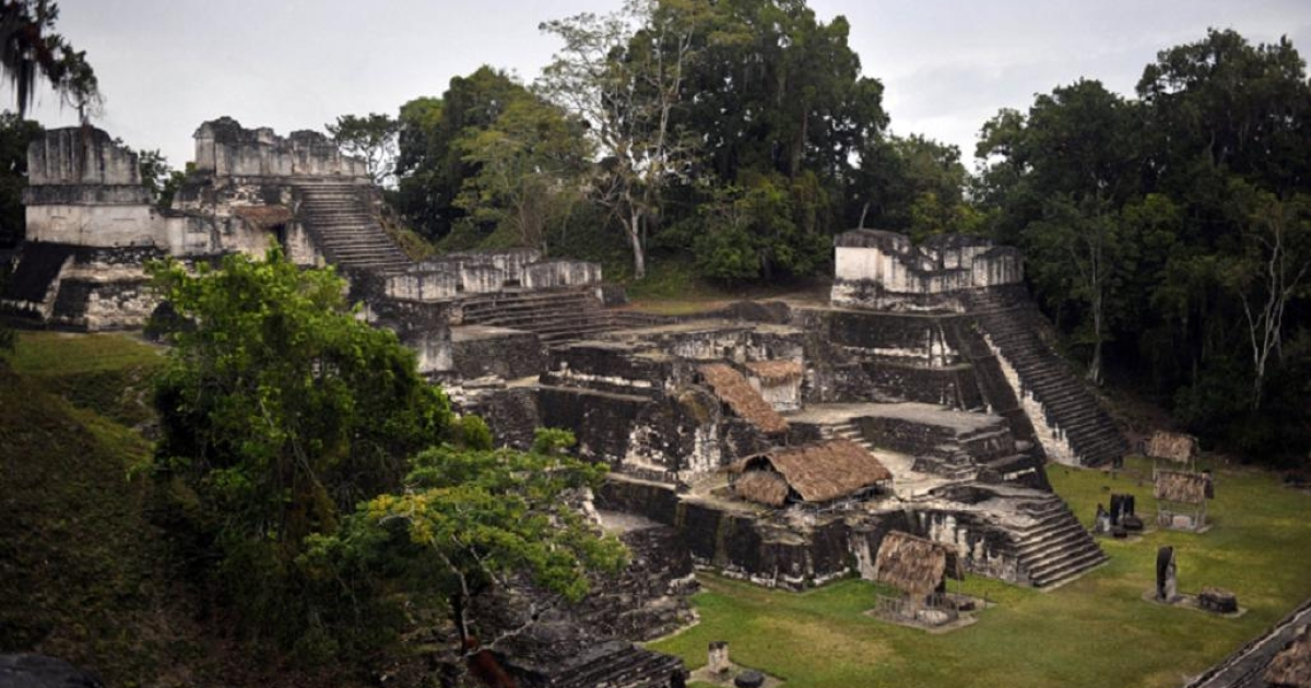 Mild drought may have caused the Mayans to abandon sites like Tikal in Guatemala</p>