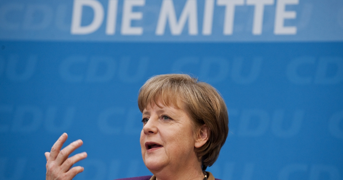 German Chancellor Angela Merkel, for many in Greece nothing she says or does will ever be right.</p>