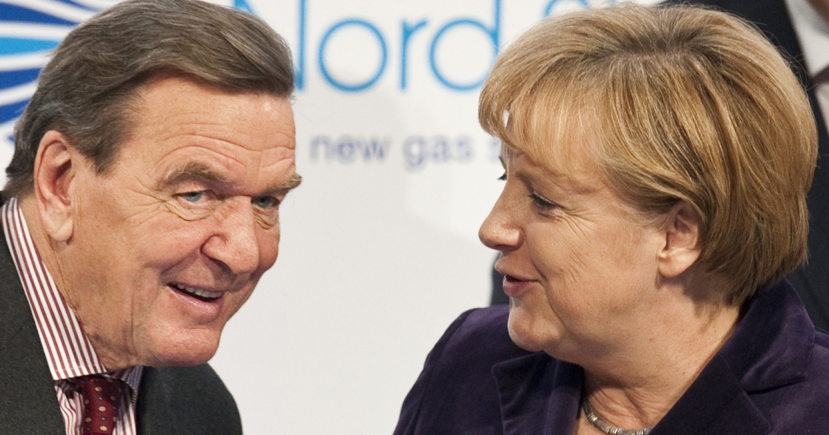He lost, she won: Gerhard Schroeder's reforms propelled his rival Angela Merkel to the chancellorship.</p>