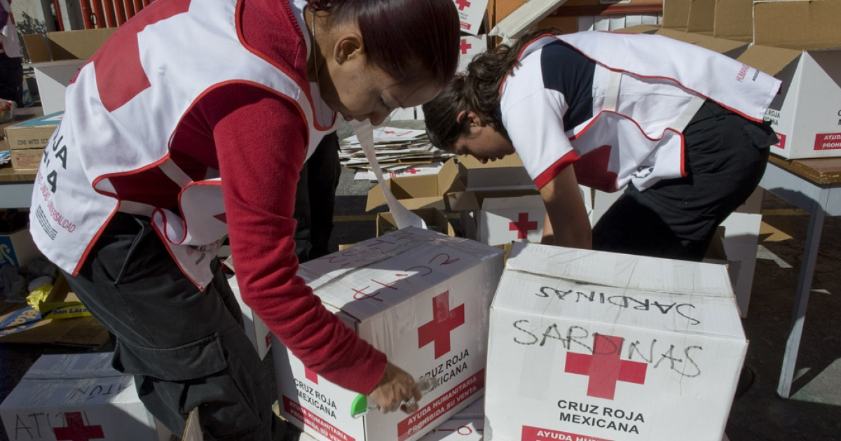 Members of the Mexican Red Cross have made several excursions to Mexico's northern mountain region, where indigenous tribes are suffering severe food shortages.</p>