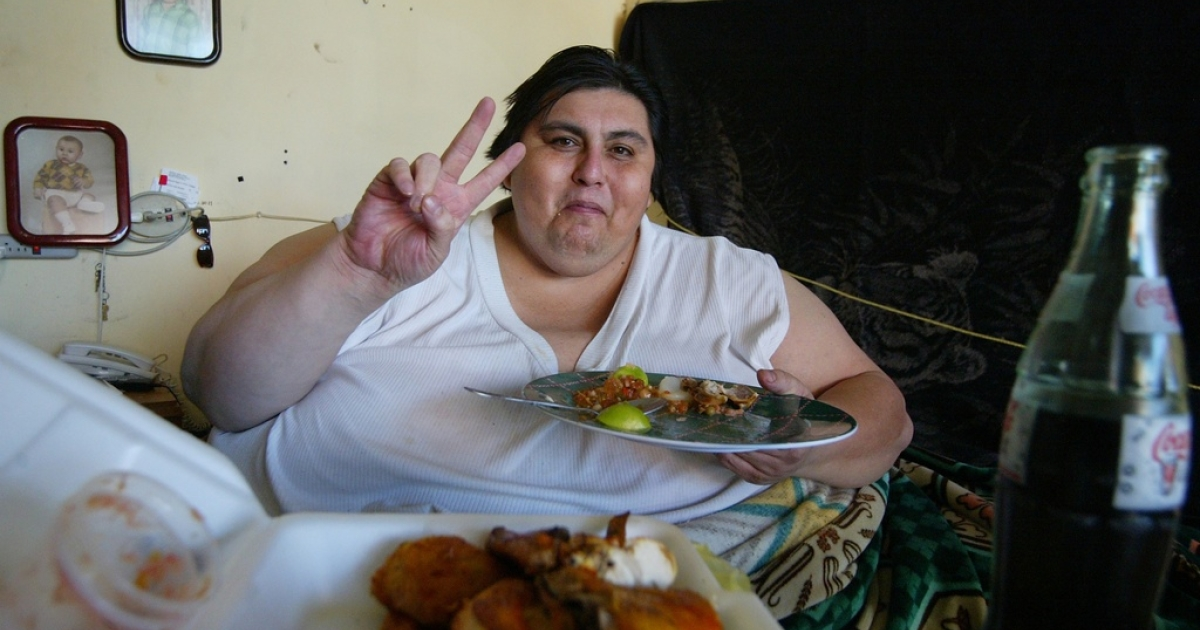 Manuel Uribe entered the Guinness book of records when weighed in at 1,235 pounds in 2006. (Luis Reyes/Reuters)</p>