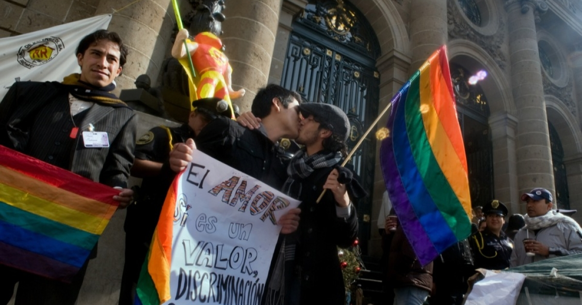 Mexico's supreme court on December 6, 2012, struck down a law in Oaxaca that banned same-sex marriage, paving the way for gay marriage to become recognized in the state and possibly the rest of the country.</p>