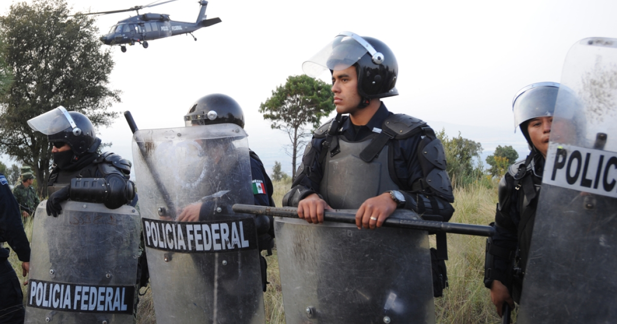A shoot out between the Mexican army and members of a drug cartel in the northwestern state of Sinaloa resulted in 12 deaths on May 2, 2012.</p>