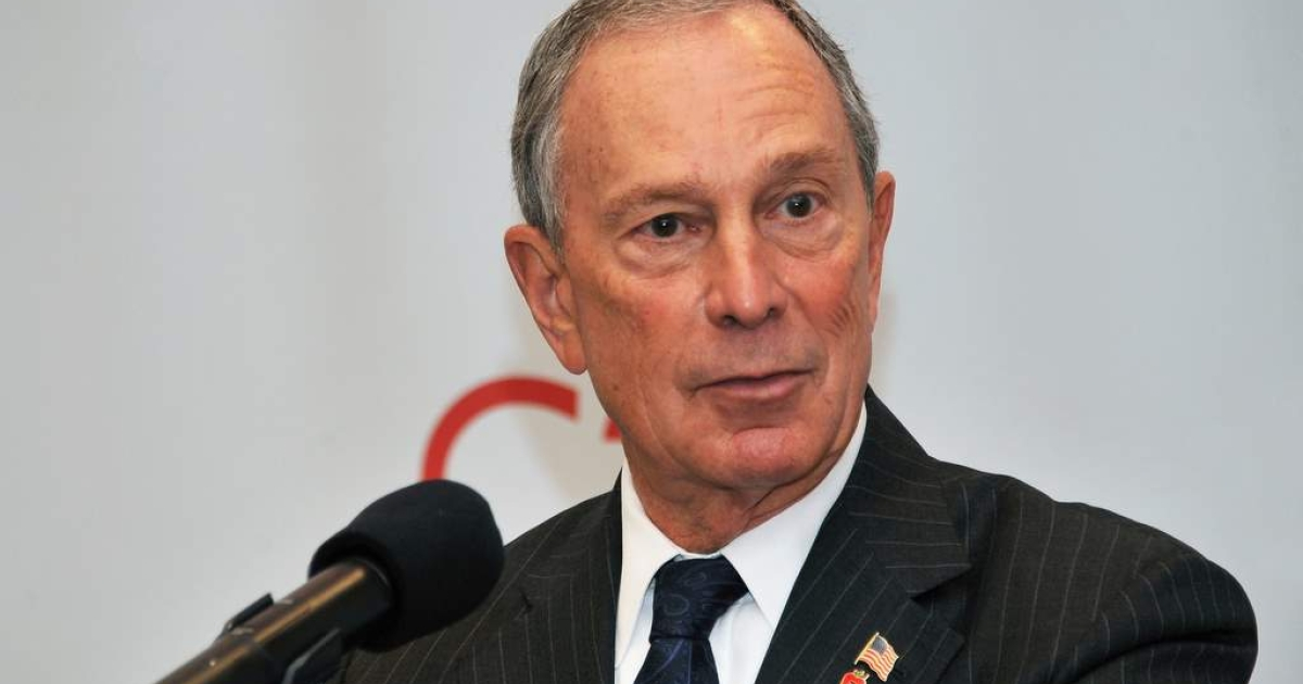 Mayor Michael R. Bloomberg attends the ribbon cutting ceremony at the grand opening of the Upper West Side's Century 21 department store on September 21, 2011 in New York City.</p>
