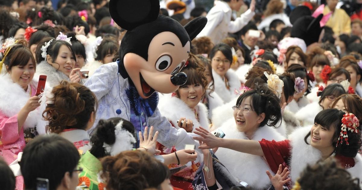 Mickey Mouse made his North Korean debut this weekend.</p>