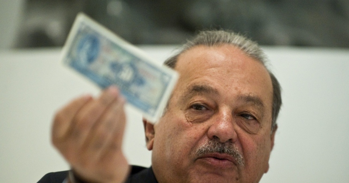 Mexico billionaire Carlos Slim, the biggest 'have' of them all.</p>