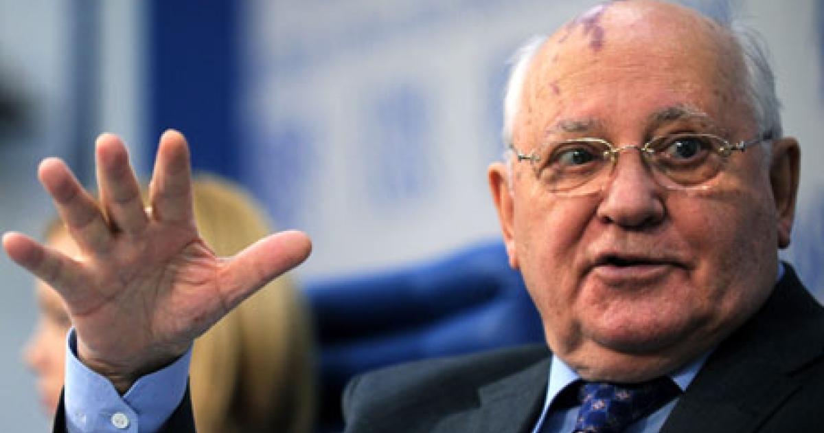Mikhail Gorbachev says Prime Minster Vladimir Putin