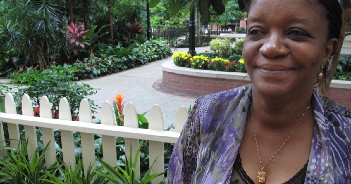 Sierra Leone's Health Minister Haja Zainab Bangura</p>