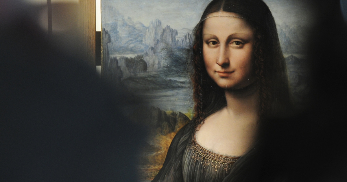 Restored copy of Mona Lisa painted by one of Leonardo da Vinci's assistants was shown at the Prado Museum in Madrid yesterday for the first time.</p>