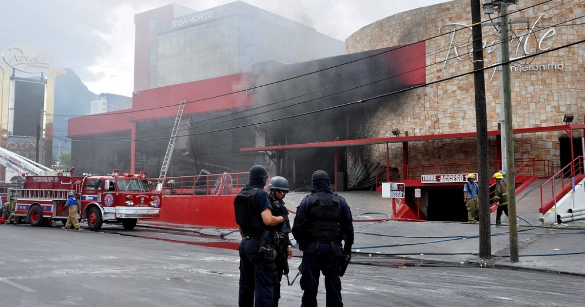 The Casino Royale after the attack.</p>