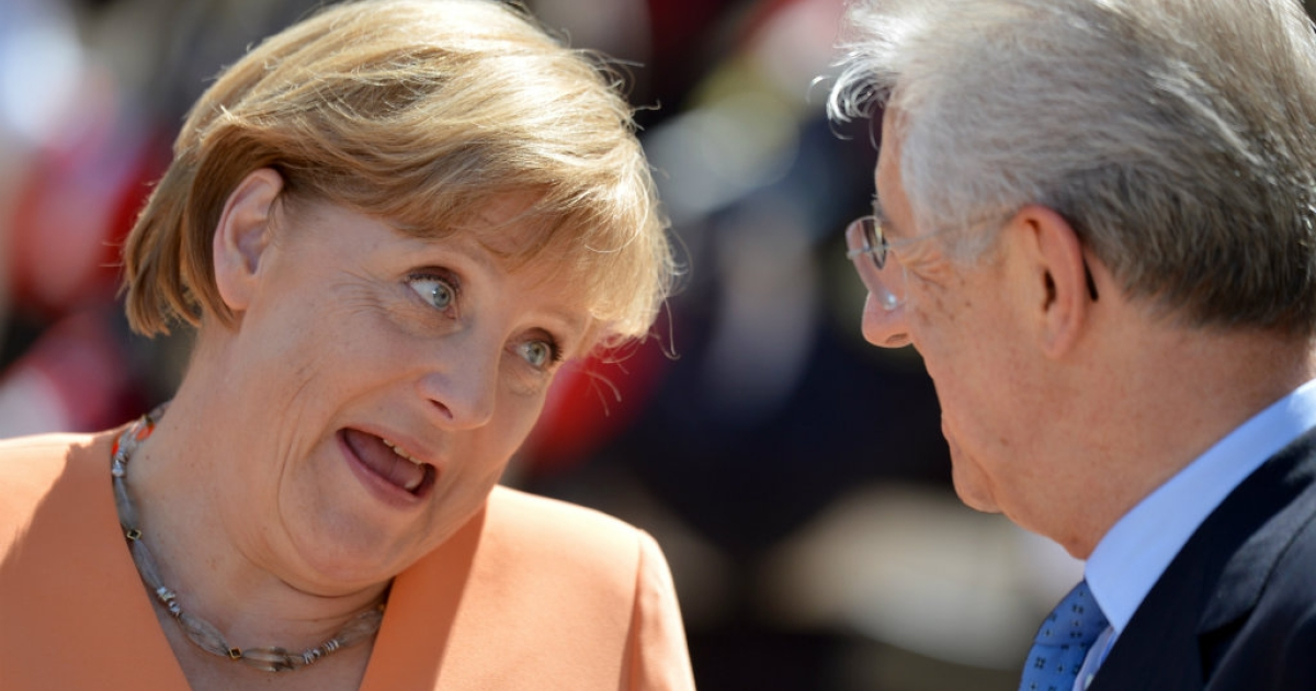 Italian Prime Minister Mario Monti hosts talks with German Chancellor Angela Merkel on tackling the debt crisis sweeping the eurozone. In a recent interview, Monti accused Germany of