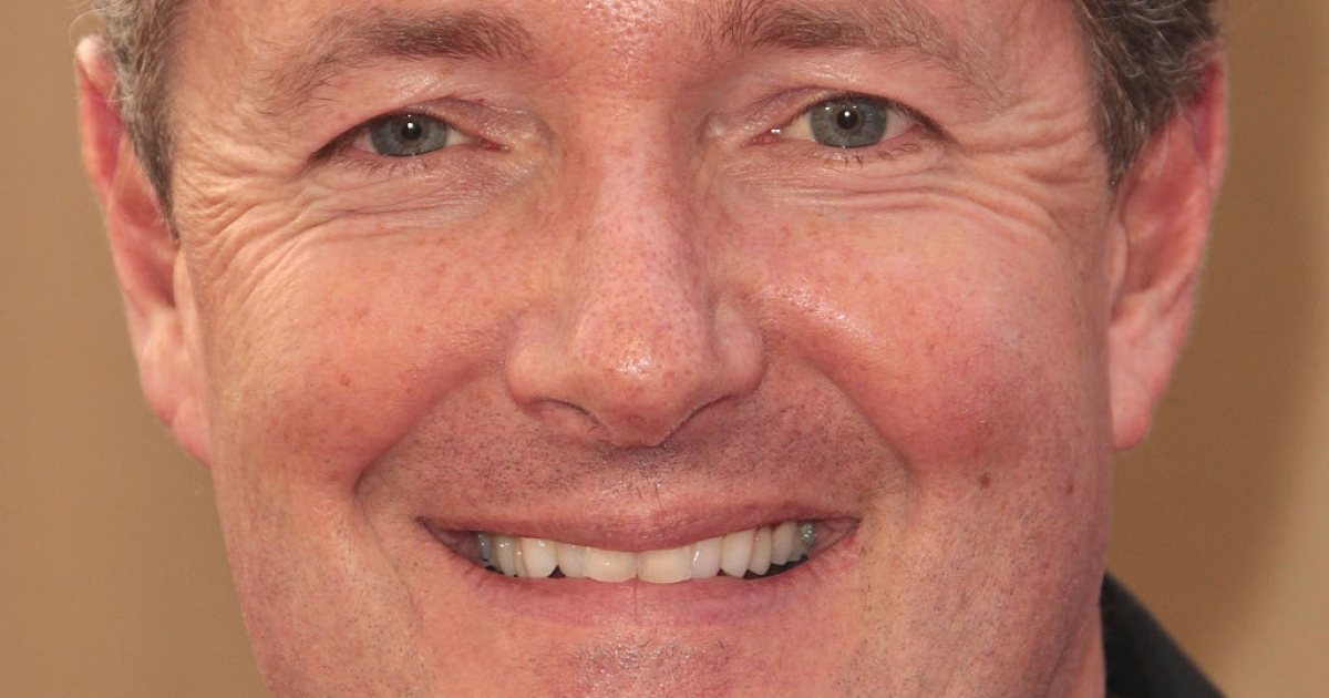 Piers Morgan, CNN star and former editor of the now defunct News of the World, the newspaper at the center of the British phone hacking scandal</p>